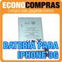 Batería Recargable Para Iphone 3g 100% Nueva!!!!!!!!!!!!!!!!