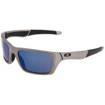New Oakley Jury Sunglasses Distressed Silver / Ice Iridium F