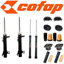 Kit 4 Amortecedor Fiesta 2002 Ate 2013 Cofap +kit +cox Axios