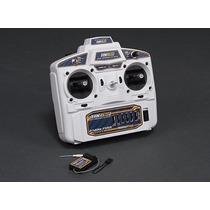 Rádio Hobbyking Hk6s 2.4ghz Fhss 6ch Tx & Rx Drone Aero Heli