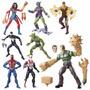 Spider Man Marvel Legends Sandman Series Set Completo