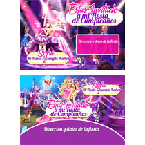 Kit Imprimible Barbie Y La Estrella Pop Personalizado 30 Eti