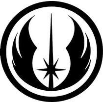 Sticker Vinil Autoadherible Star Wars Logo Jedi