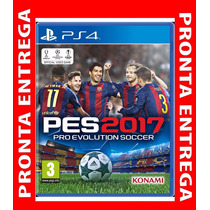 Pes 2017 Pro Evolution Soccer 2017 Ps4 M. Física Pre Venda