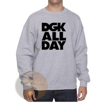 Blusa Moletom Dgk All Day Gola Redonda !!!