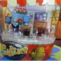 Snubbies Set 5 De Perritos Miniatura Cabezones