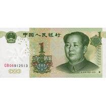 Grr-billete De China 1 Yuan 1999 - Mao Tse Tung