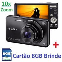 Camera Digital Sony Cyber Shot Dsc W690 16mp Zoom 10x Optico