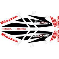 Jgo De Calcomanias Para Moto Honda Cbx Twister 250