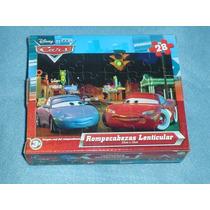 Cars Rompecabezas Lenticular 3d De 28 Piezas Original Nuevo