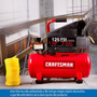 Compresor 1hp 3 Galones 125psi Craftsman