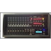Consola Potenciada Cabezal Moon M6612 Usb 12ch 200+200watts