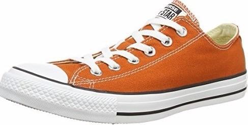 converse naranja hombre