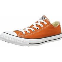 Tenis Converse Chucktay3 Naranja Para Hombre 100% Originales