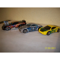 Hot Wheels Lote3 Coches Ferrari Modena Nissan Z Pontiac