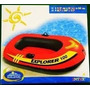Bote Inflable Intex Explorer 200 95kg Sin Remos