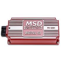 Caja De Control De Igniciones Msd 6a Digital 6201 Y Arnes