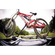 Rack Porta Bicicletas Aluminio Con Candado Anti-robo