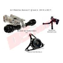 Kit Slider Procton Racing Xj6 N F Xj6n - 3 Itens