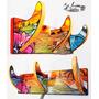 Cabide Personalizado Arte Surfart - Popart- Surf. Em Madeira
