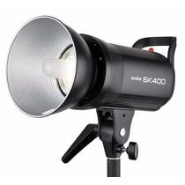 Flash Estrobo Sk400 Godox / Flash Estudio Fotografico