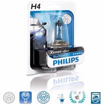 Lampada Super Branca Philips Blue Vision H4 4000k 60/55w