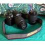 Vendo Camara Nikon D3000 C/ Lente 18-55 Y 55-200