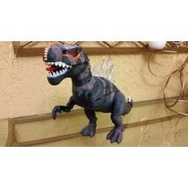 Jurassic Park World - Dinossauro T Rex Anda E Acende Olhos