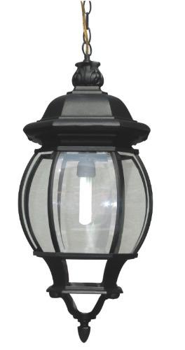 lampara exteriores farol colgante negro blanco y verde