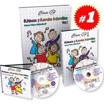 Ritmos Y Rondas Infantiles 1vol +1 Dvd + 1cd De Audio