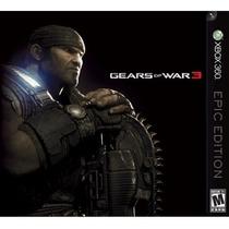 Gears Of War 3 Edicion Epica Epic Edition Blakhelmet Sp