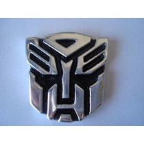 Transformers Autobots Decepticons Emblema Metalico