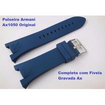 Pulseira Armani Ax1041 Exchange Ax1068 Ax1183 Ax1050 Azul