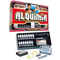 Alquimia Kit Ciência 75 Experiências Quimica Frete Gratis
