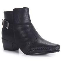 Ankle Boots Feminina Ramarim - Preto