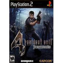 Patch Resident Evil 4 100% Português Ps2 Frete Grátis