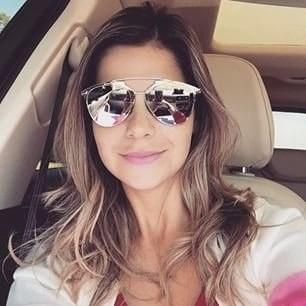 677eb8857e84a Óculos De Sol Dior Reflected Prata Espelhado Frete Grátis - R  629 ...