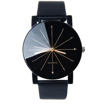 Relógio De Pulso Quartz Original - Preto