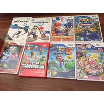 Jogos Do Nintendo Wii Usados - Ótimos Titulos