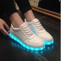 Zapatillas Led!! Luces Excelentes Mujer  Hombre, Chicos!