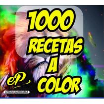 Recetario Recetas Medicas A Todo Color Super Precio Wow!!!!