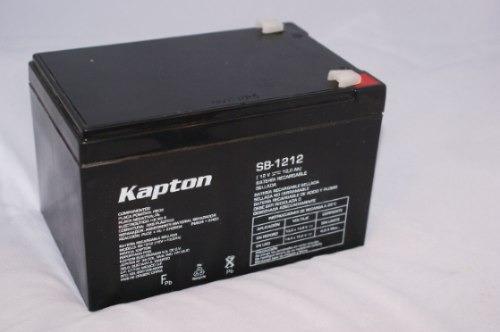 Bateria Recargable Nueva Para Carro Electrico Kapton 12v 12a