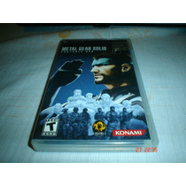 Psp Metal Gear Solid Ops Playstation Portable