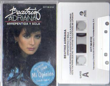 beatriz adriana arrepentida y sola album