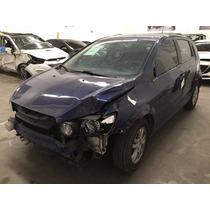 Chevrolet Sonic 2013 Chocado Savamento Siniestro Chocados