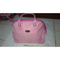Bolsa Viagem Rosa, Original Marca Barbie