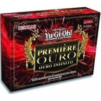 Novo Yu-gi-oh Premiere Ouro 3 Ouro Infinito Edição Português