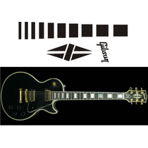 Inlay Stickers Guitarra Elèctrica Gibson Les Paul Custom B.b