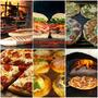 Pizzetas Chivitos Y Calzones + Postre + Pop Corn