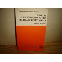 Código De Procedimientos Civiles Del Estado De Michoacán